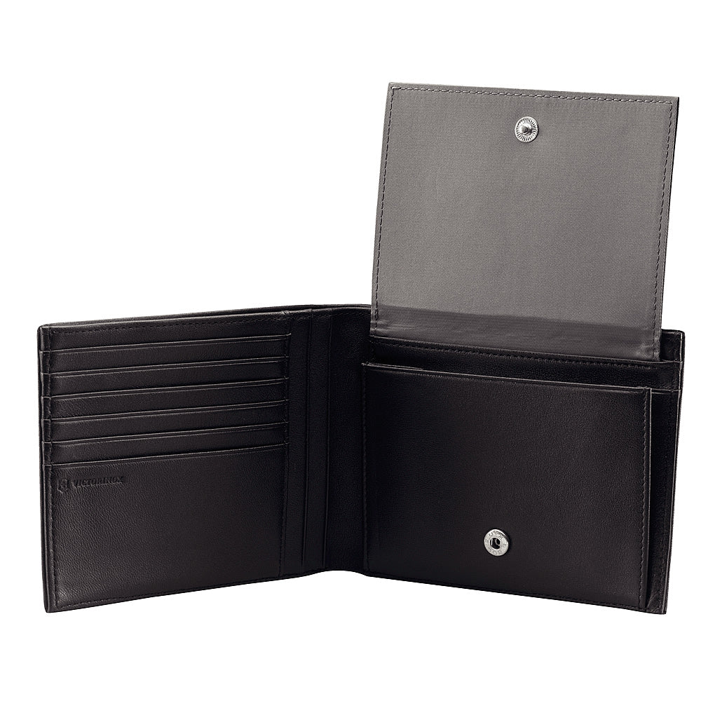 Victorinox Innsbruck Bi-Fold Wallet with ID Window and Coin Purse