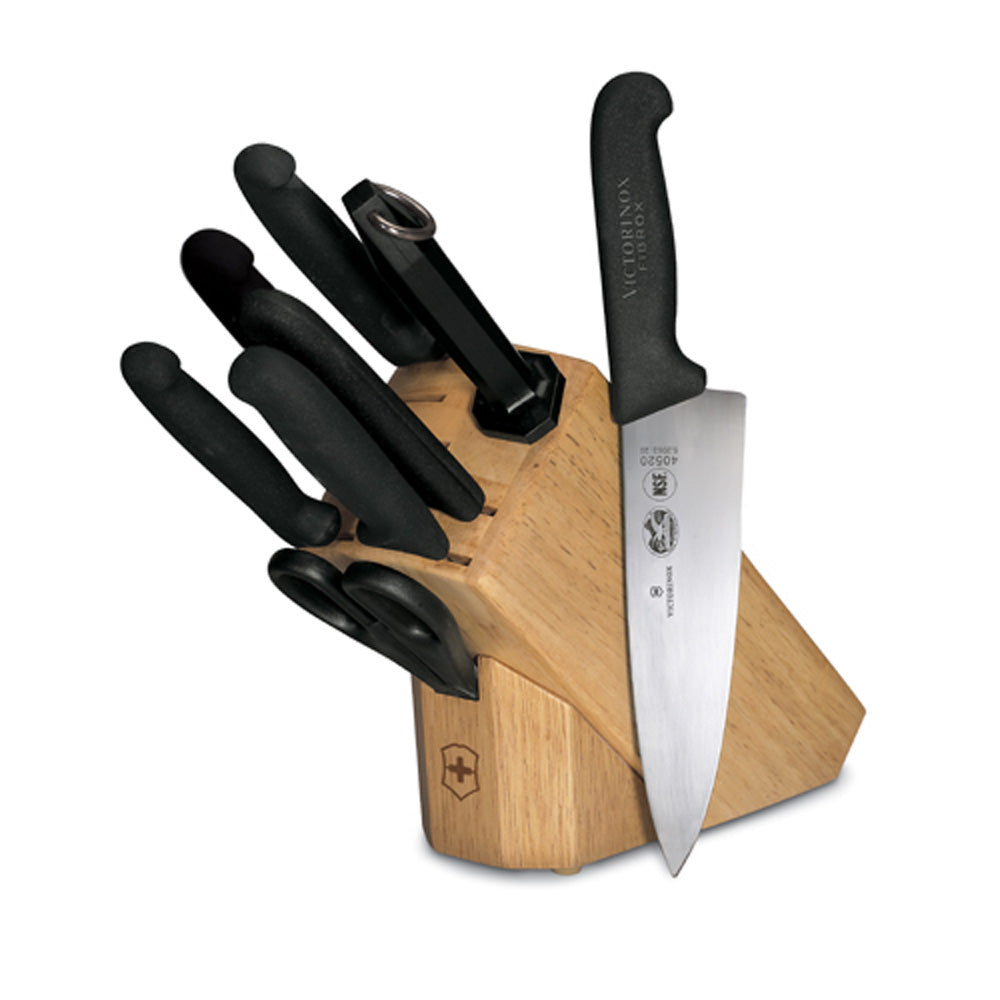 Fibrox Pro 8-Piece Block Set by Victorinox