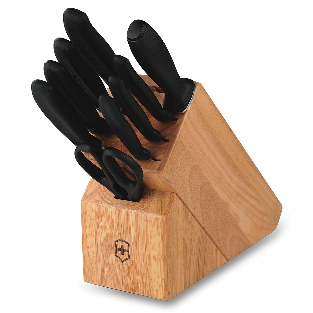 Swiss Classic 10-Piece Knife Block Set by Victorinox