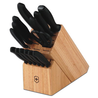 Swiss Classic 15-Piece Knife Block Set by Victorinox
