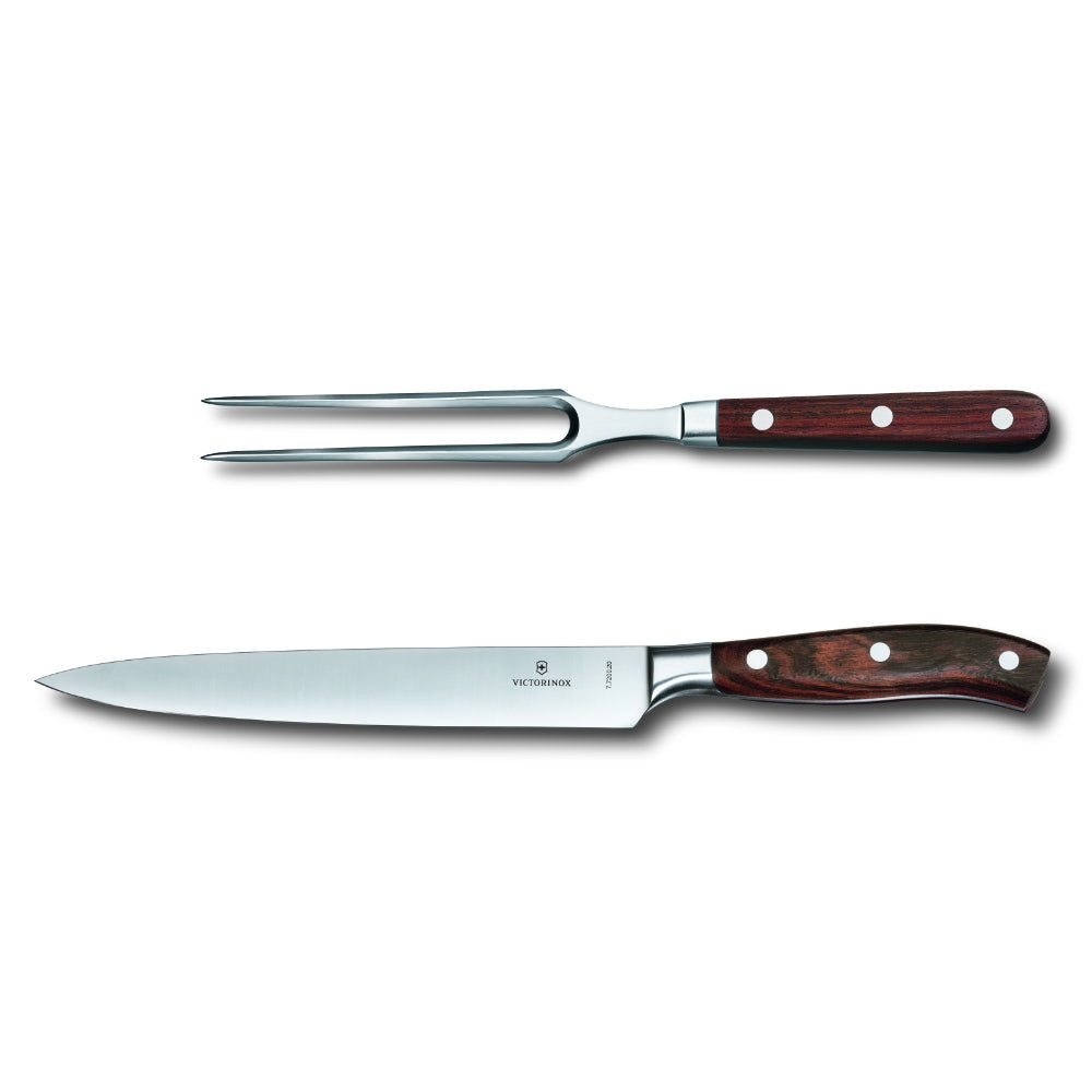 Victorinox Grand Maitre Wood 2-Piece Carving Set