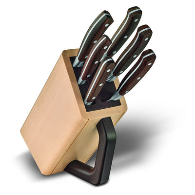 Victorinox Grand Maitre Wood 6-Piece Knife Block Set