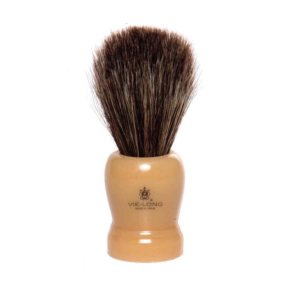 Vie-Long Horse Hair Shaving Brush - Cream Handle