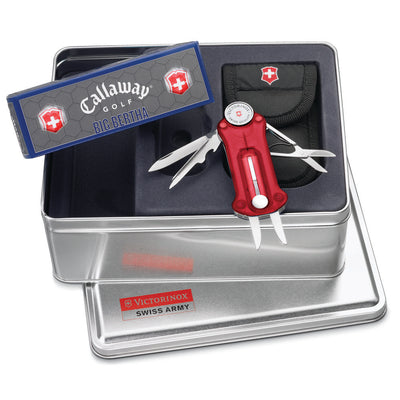 Swiss Army Ruby GolfTool with Golf Balls