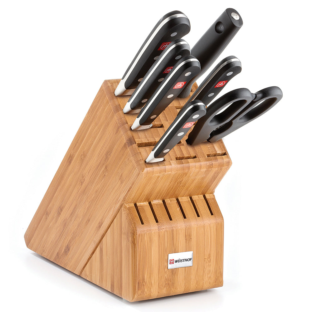 Wusthof Classic Eight-Piece Knife Block Set