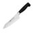 "Zwilling TWIN Four Star 7"" Hollow Edge Rocking Santoku Knife"