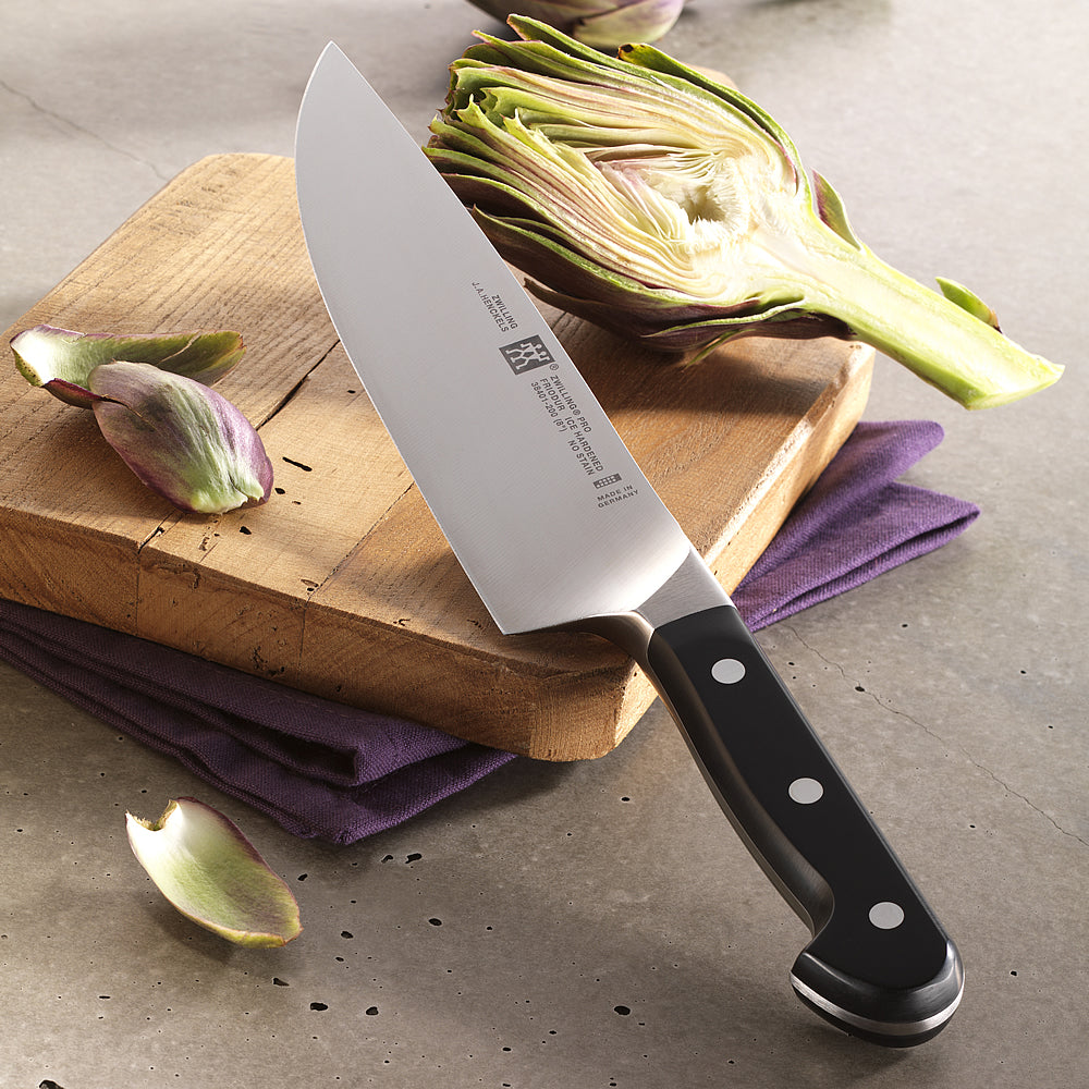"Zwilling Pro 8"" Chef's Knife at Swiss Knife Shop"