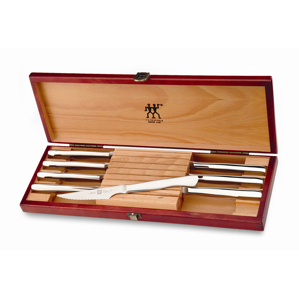 TWIN Stainless Steel 8-Piece Steak Set by Zwilling J.A. Henckels
