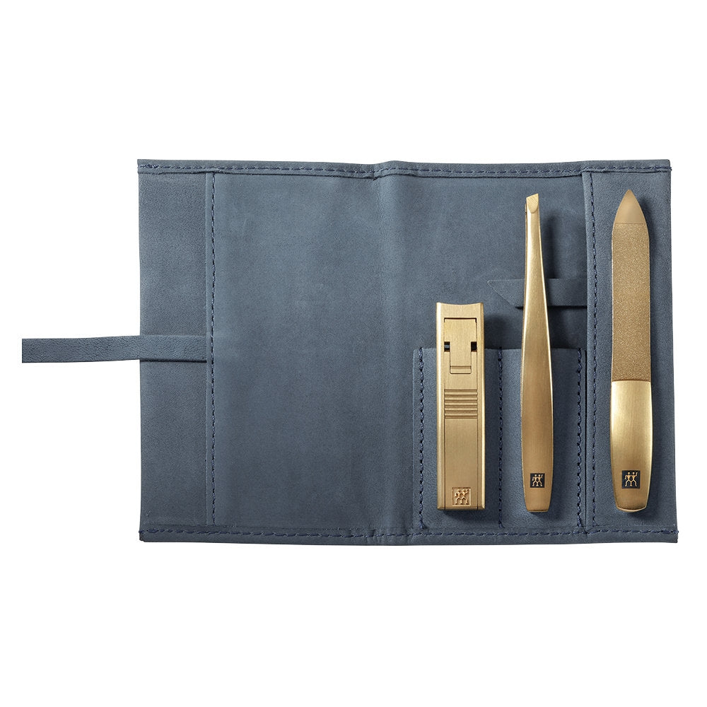 3-Piece Gold Stainless Steel Grooming Set by Zwilling J.A. Henckels