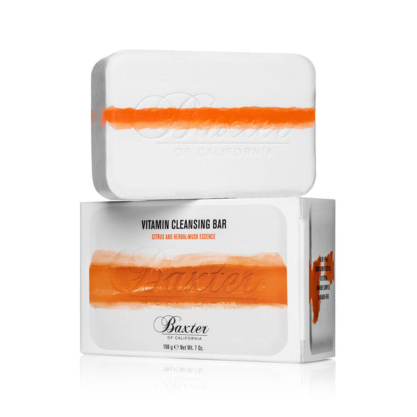 Vitamin Cleansing Bar - Citrus/Herbal Musk