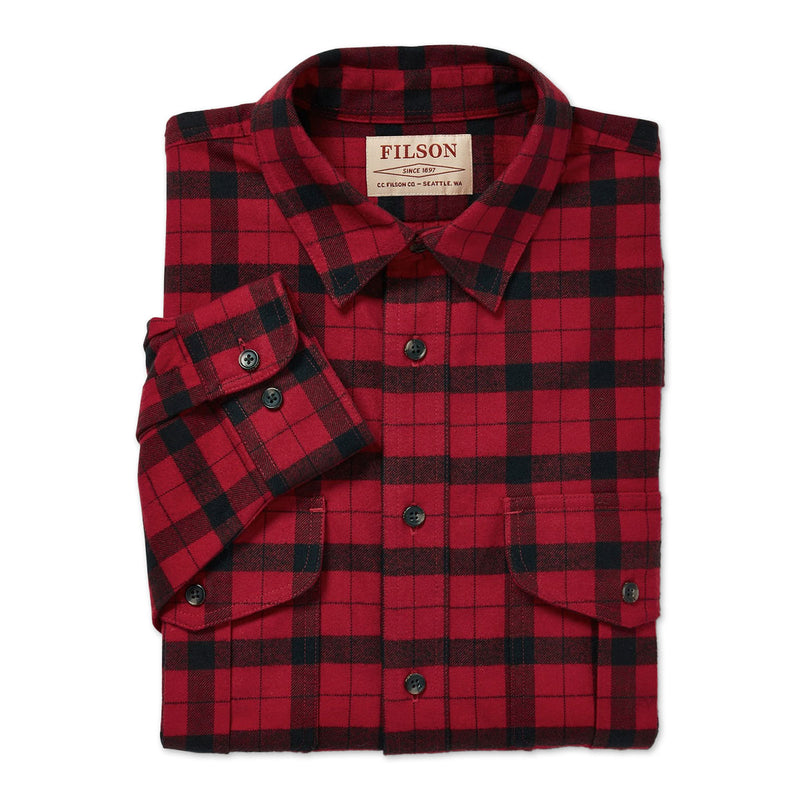 Alaskan Guide Check Shirt - Red/Black
