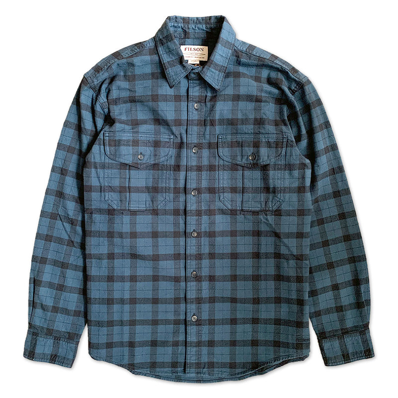 Alaskan Guide Check Shirt - Midnight/Black