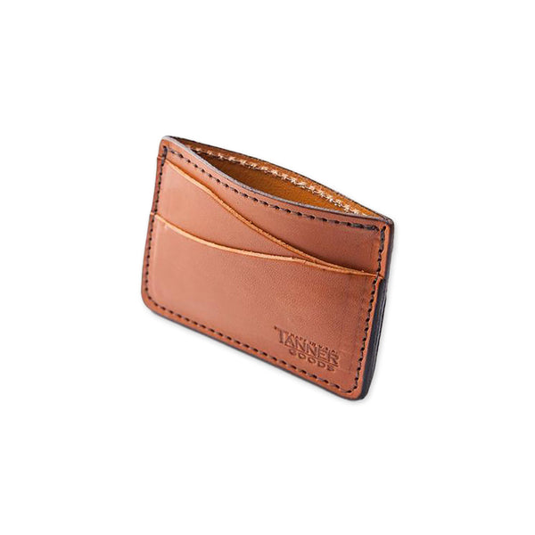Journeyman Leather Card Holder - Saddle Tan