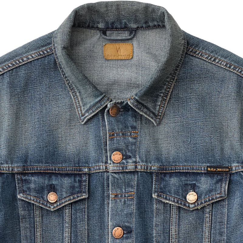 Jerry Denim Jacket - Dark Worn
