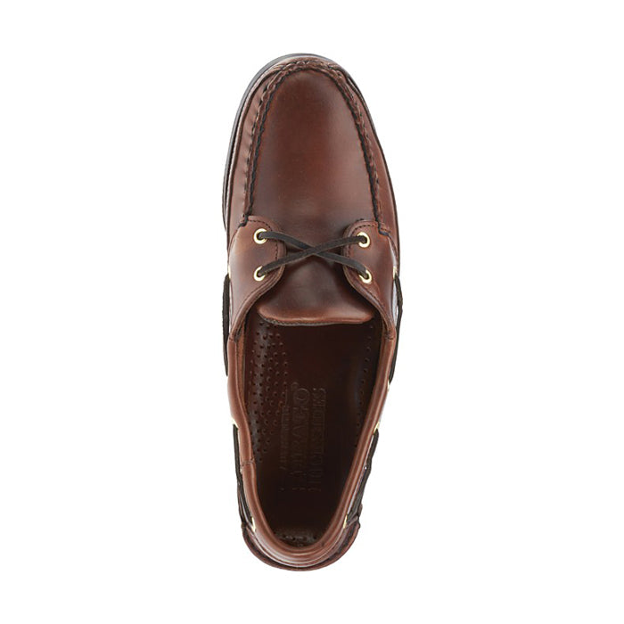 Schooner - Brown Oiled Waxy Leather