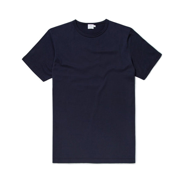 Q82 Classic Crew Neck T-Shirt - Navy