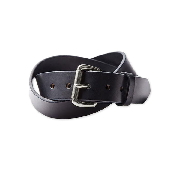 Standard Leather Belt - Black