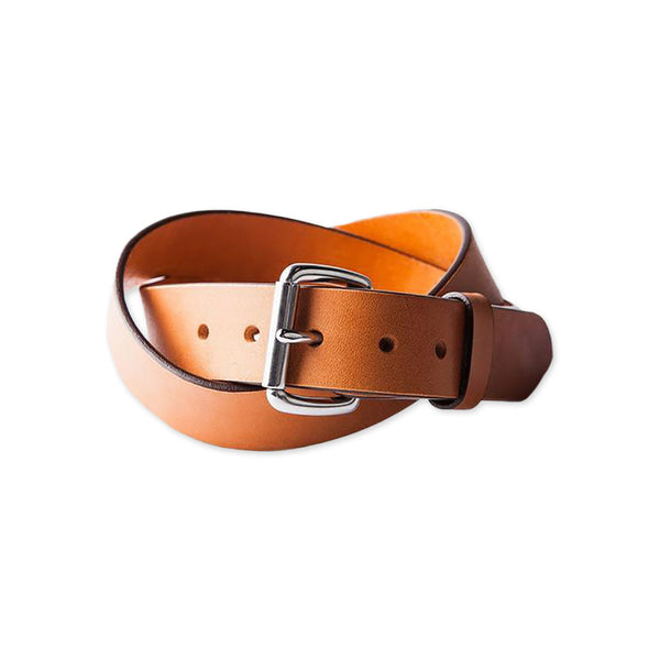 Standard Leather Belt - Saddle Tan