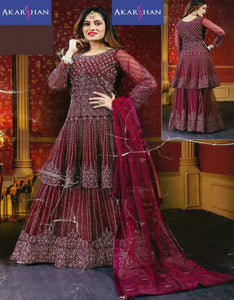 Flair kameez with Skirt in Zardosi work