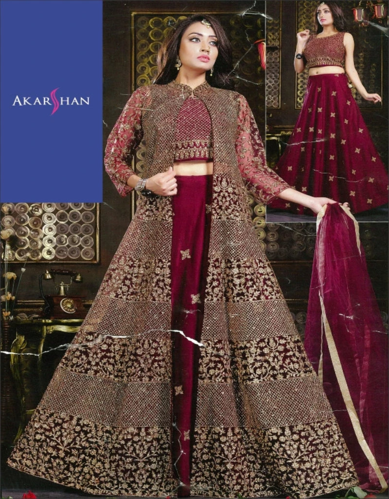 Designer Lehenga Kameez with Jacket