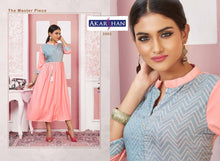 Load image into Gallery viewer, Rayon Flair Kurti