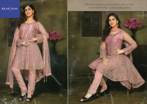 High Low Kameez in Zardosi work