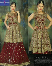 Load image into Gallery viewer, Lehenga kameez with Embroidery