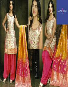 Brocade Silk Patiala with  Brocade Silk Dupatta