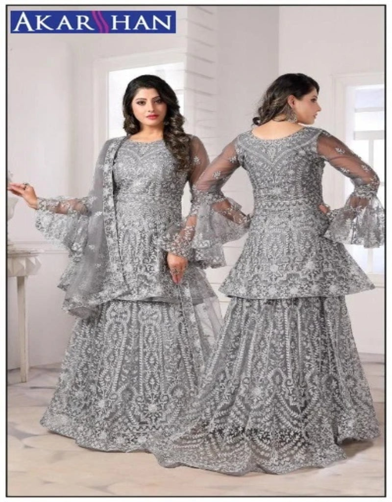 Embroidered Hand Work Lehenga Kameez