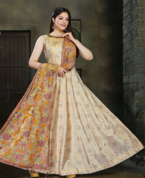 Flair Kameez with Heavy Dupatta
