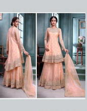 Load image into Gallery viewer, High Low Lehenga Kameez