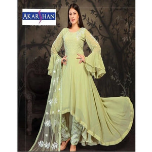 Georgette High Low Kameez