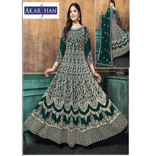 Load image into Gallery viewer, Georgette Flair Front and Back Embroidery Kameez