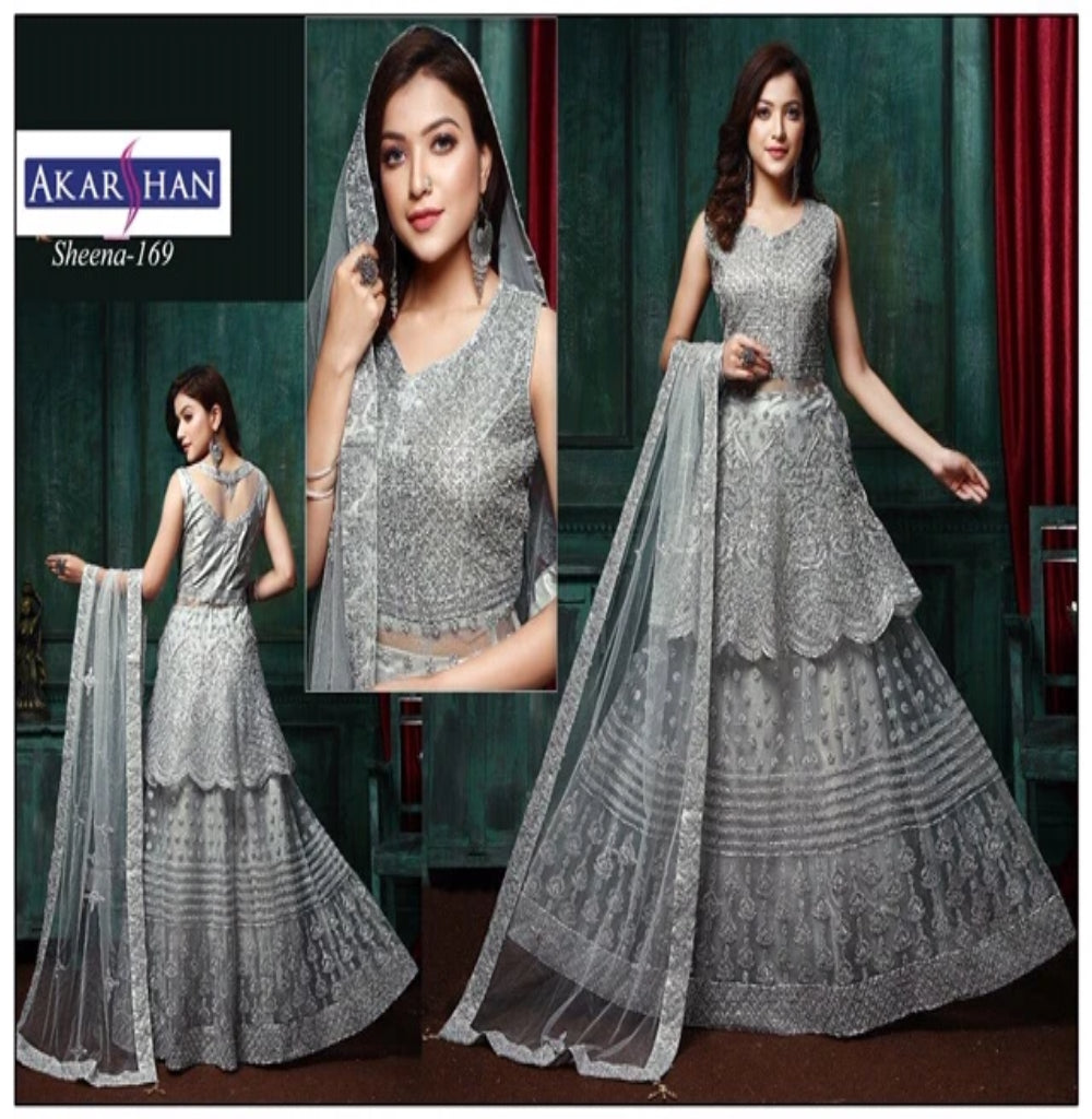 Short Flair Lehenga Kameez