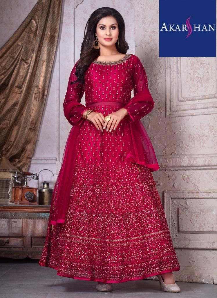 Flair Front and back Embroidery kameez