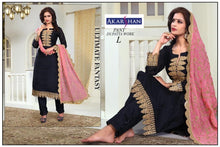 Load image into Gallery viewer, Straight Kameez with heavy Dupatta