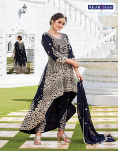 Designer High Low Kameez