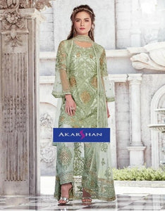 Jacket Style Kameez with Plazo