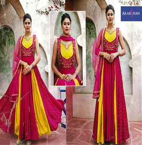 Georgette Flair kameez