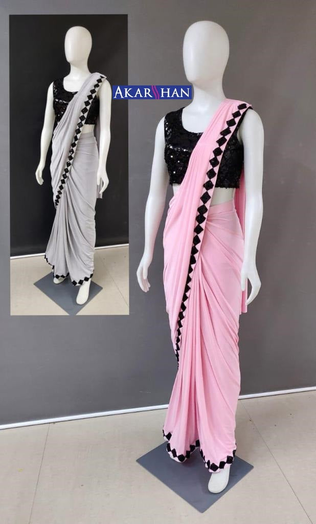 Ready Made Blouse & Lycra Saree