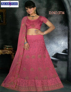 Front and back Embroidery Lehenga
