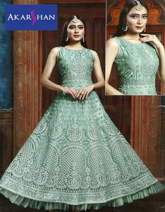 Designer Flair Gown in Zardozi work