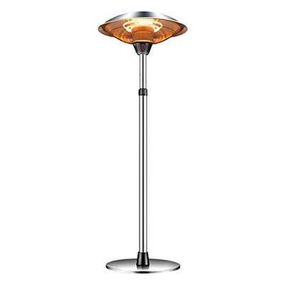 Patio Heaters Outdoor Freestanding Patio Heater Waterproof Heater Adjustable Height Heater for Indoor Outdoor FENGNV1010 (1500W)