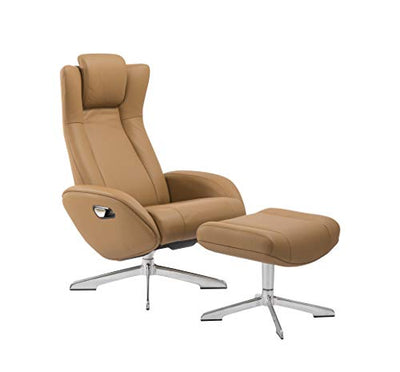 World Source Design Tahiti Manual Motion Recliner, Camel
