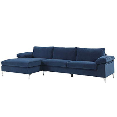 Housel Living -NV Sectional, NAVY