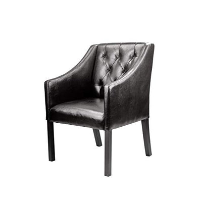CorLiving FBA_ Club chair, Espresso Brown