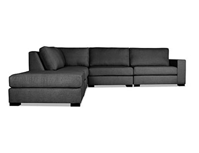 South Cone Home Tribeca Modular Sectional, Charcoal