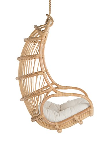Kouboo Hanging Swing Chair, Large, Natural