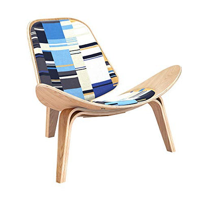 NyeKoncept Blue Stream Shell Chair Natural