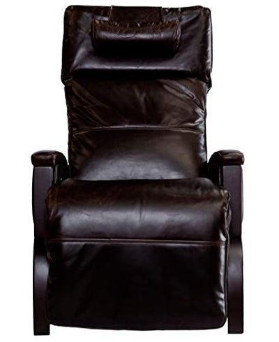 Svago ZGR Newton - The Ultimate Leather Zero Gravity Recliner (Coffee)